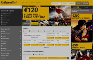 RELOADBET Screenshot